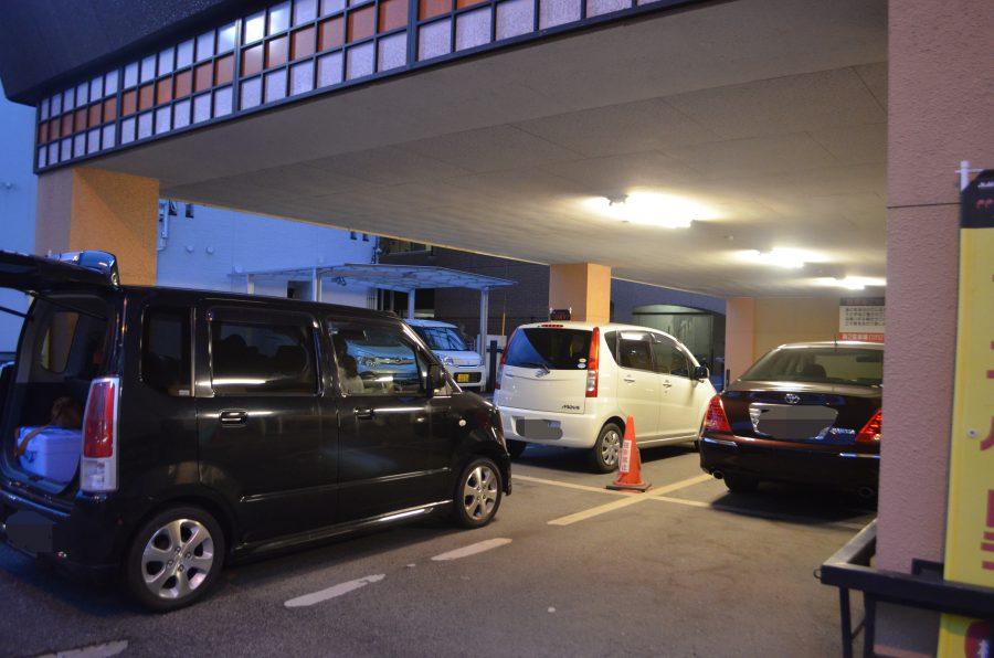 高麗苑,駐車場