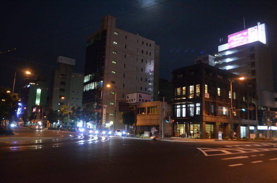 ボッケ,夜景