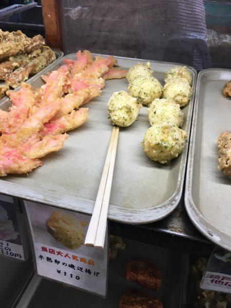 まえばうどん,天ぷら