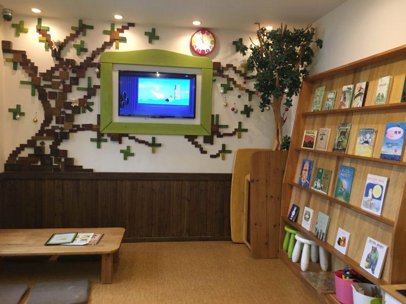 子やぎのかくれんぼ(松山市平井店)の店内のキッズルーム