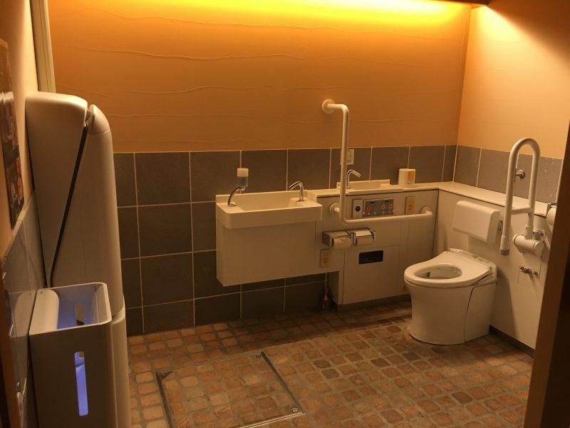 マテラの森,トイレ