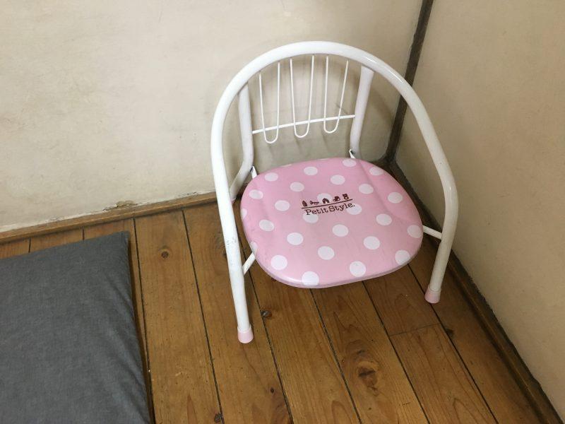 耕庵,子供椅子