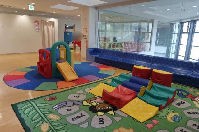 ゴールドタワー本館2階の赤ちゃんコーナー