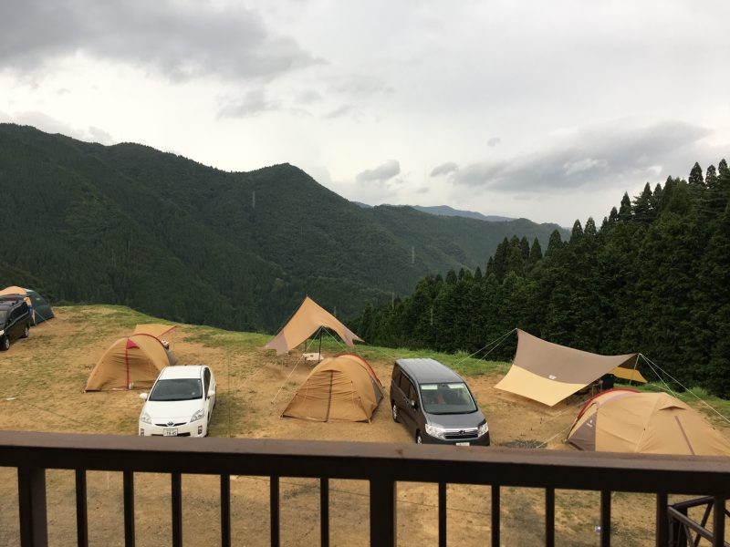 若杉高原おおやキャンプ場,絶景サイト