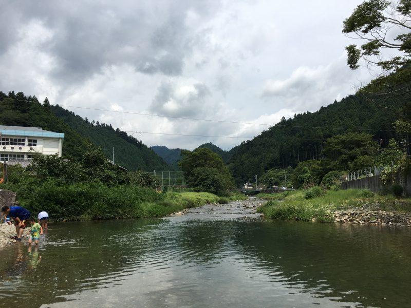 山本鮎狩り場,川遊び