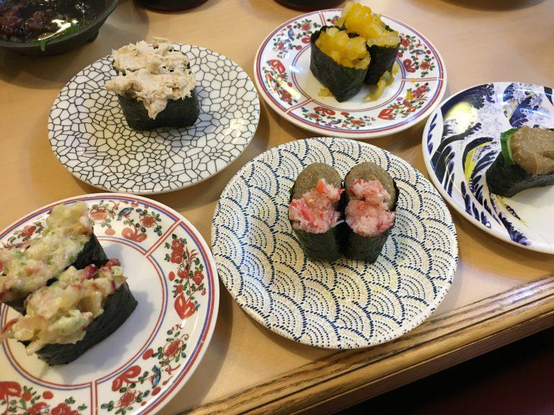 寿司水軍,握り寿司