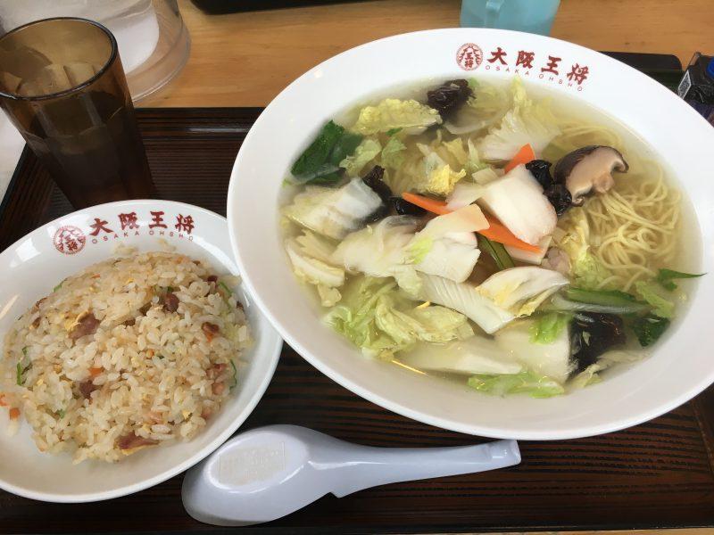 大阪王将エミフルMASAKI店,定食