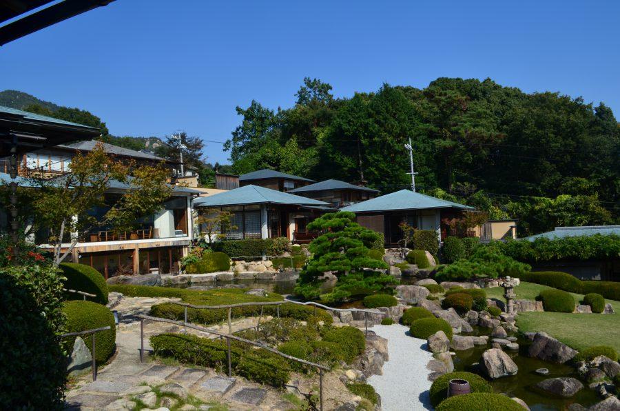 石亭,ランチ,庭園