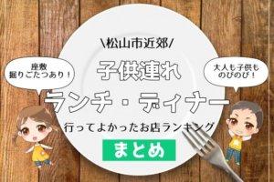 松山市,子供連れ,ランチ・ディナー