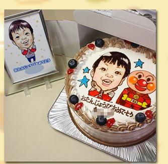 キャラクターケーキ,通販