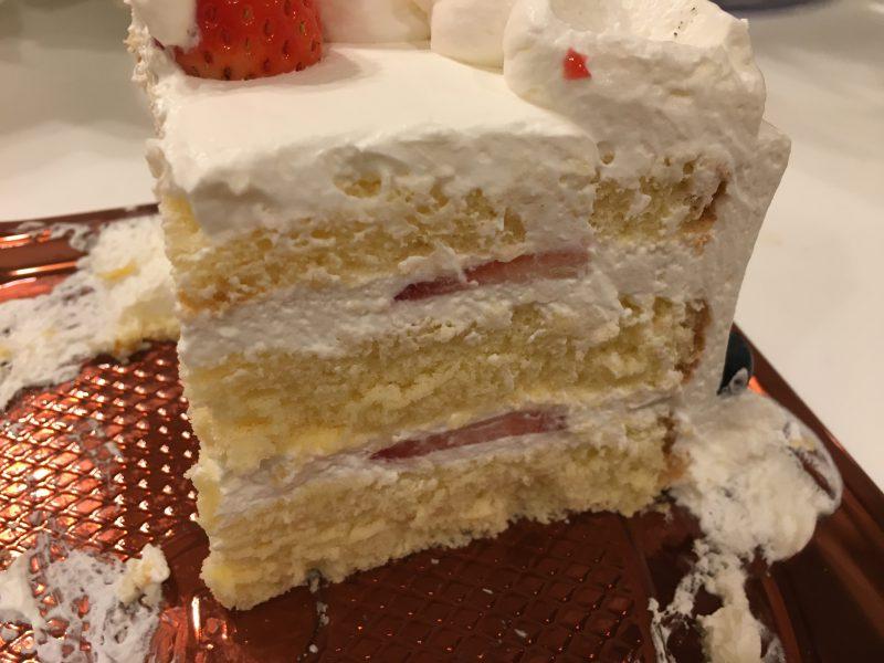 あん庵,ケーキ,断面