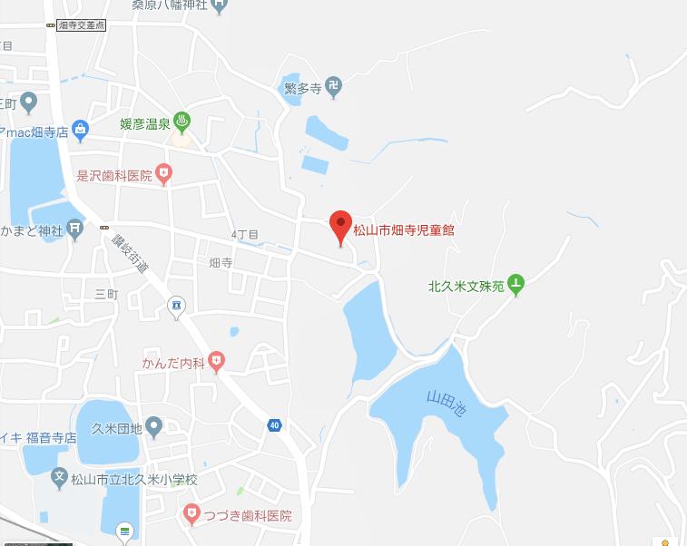 畑寺児童館,地図