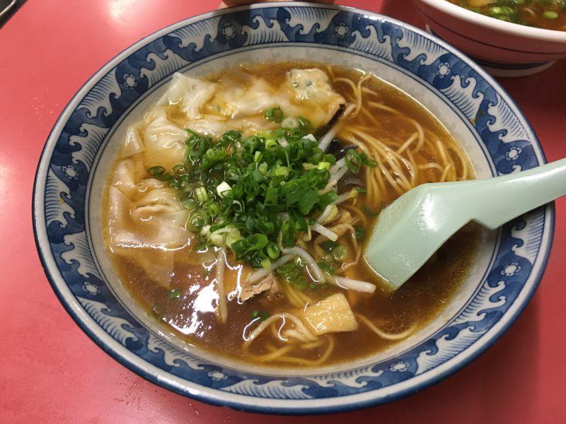 豚珍行,ワンタン麺