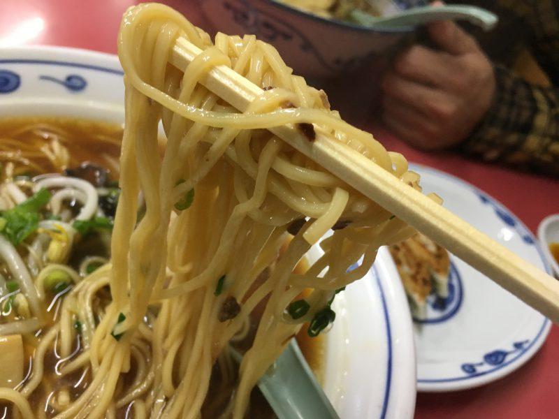 豚珍行,中華そば,麺
