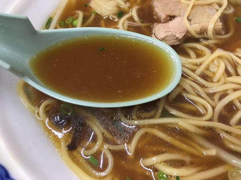 豚珍行,中華そば,スープ