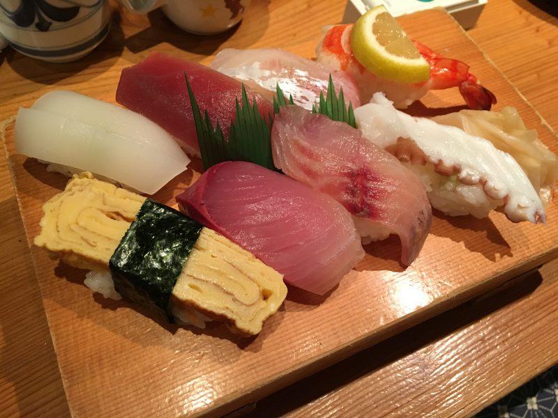 ふる田,握り寿司