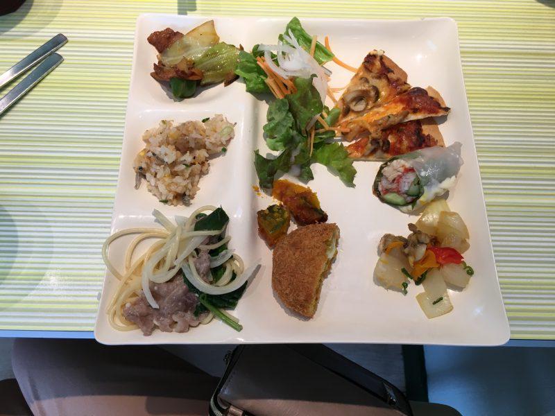 カラフル,大洲,料理