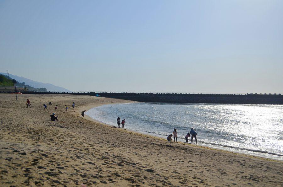 双海,ビーチ