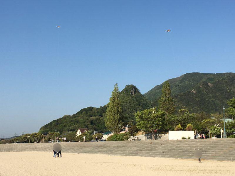 双海,砂浜