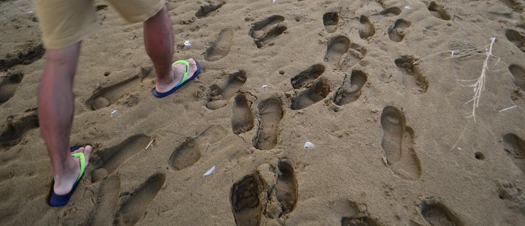 父母ヶ浜,砂浜