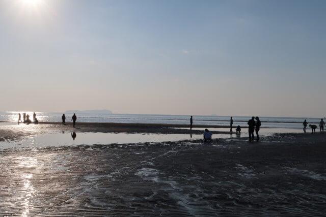 秩父ヶ浜(香川),昼の様子