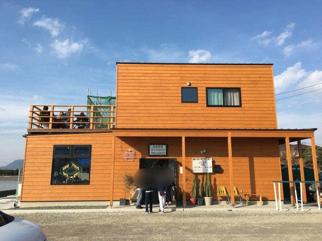 父母ヶ浜,カフェ,BAKE ATUDIO OKAZAKI