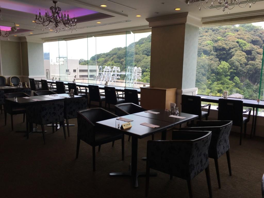 松山全日空ホテル,ランチブッフェ,座席