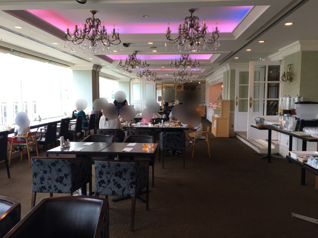 松山全日空ホテル,ランチブッフェ,雰囲気