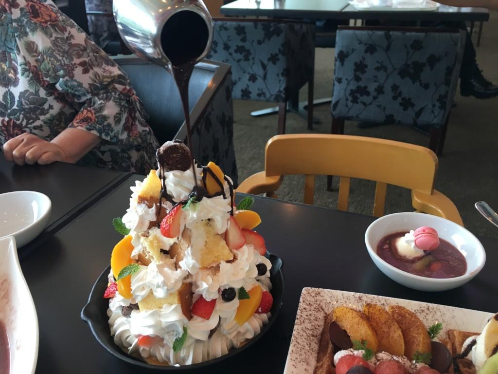松山全日空ホテル,ランチブッフェ,デザート