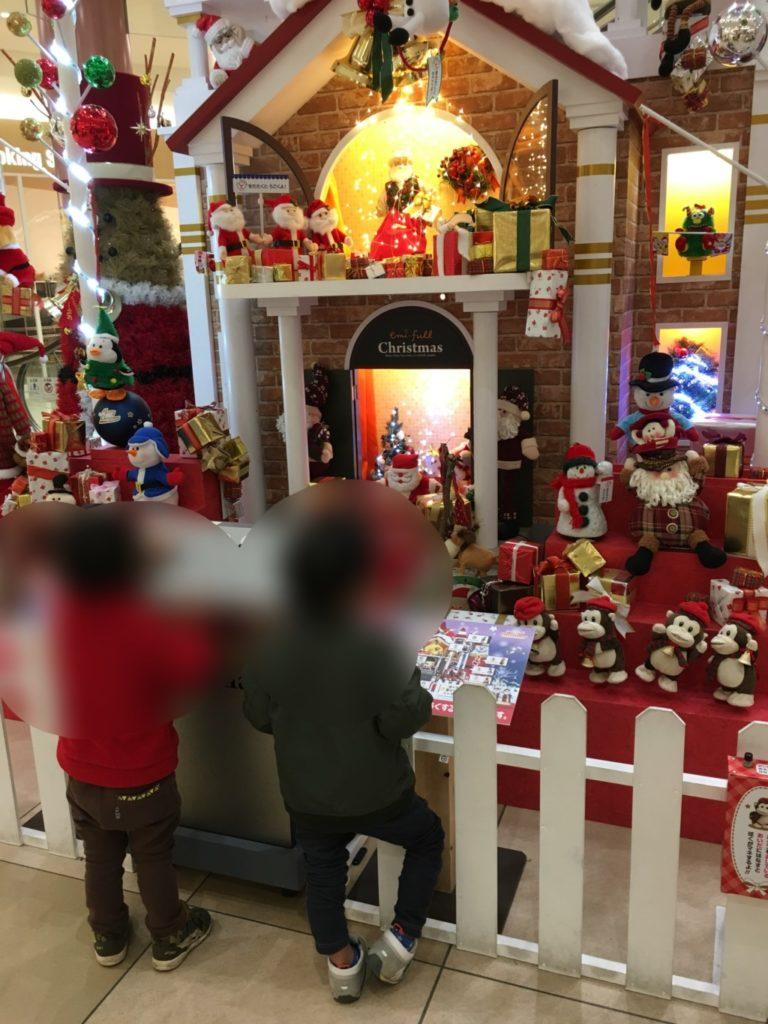 エミフル,クリスマス飾り