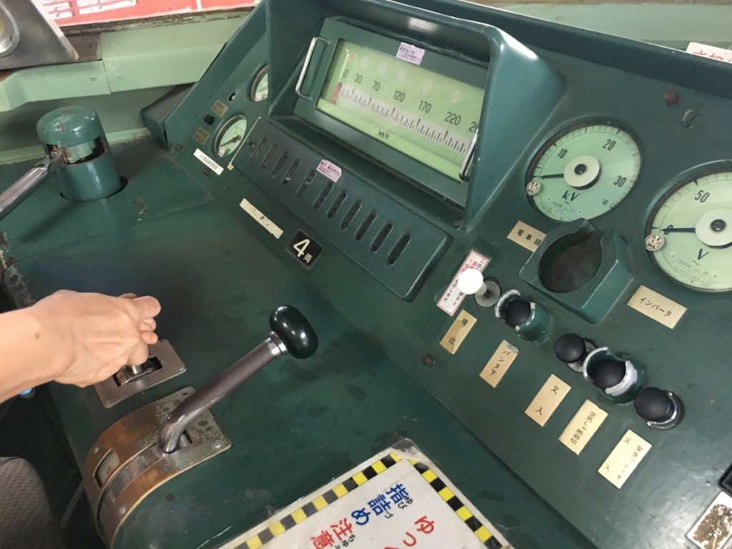 鉄道歴史パークinSAIJO,北館,運転席