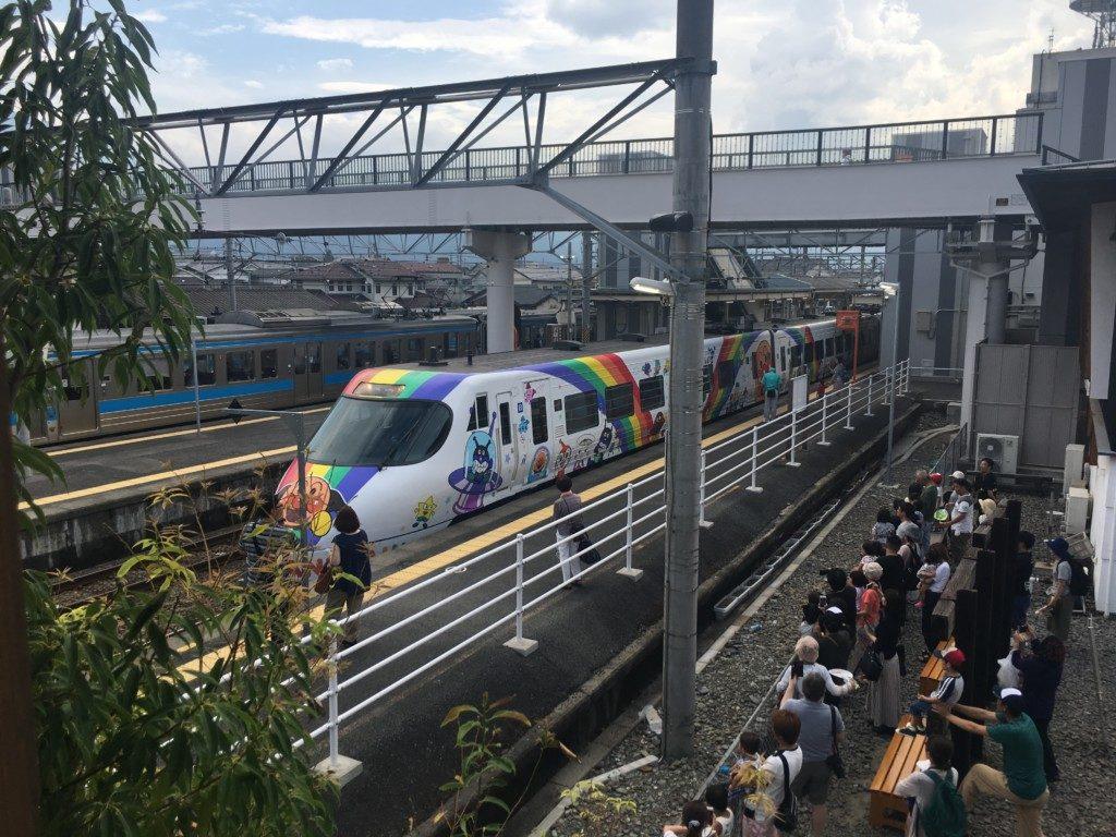 鉄道歴史パークinSAIJO,アンパンマン列車