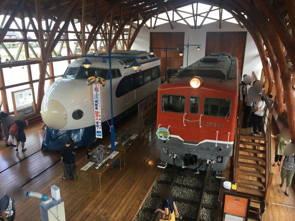 鉄道歴史パークinSAIJO,電車