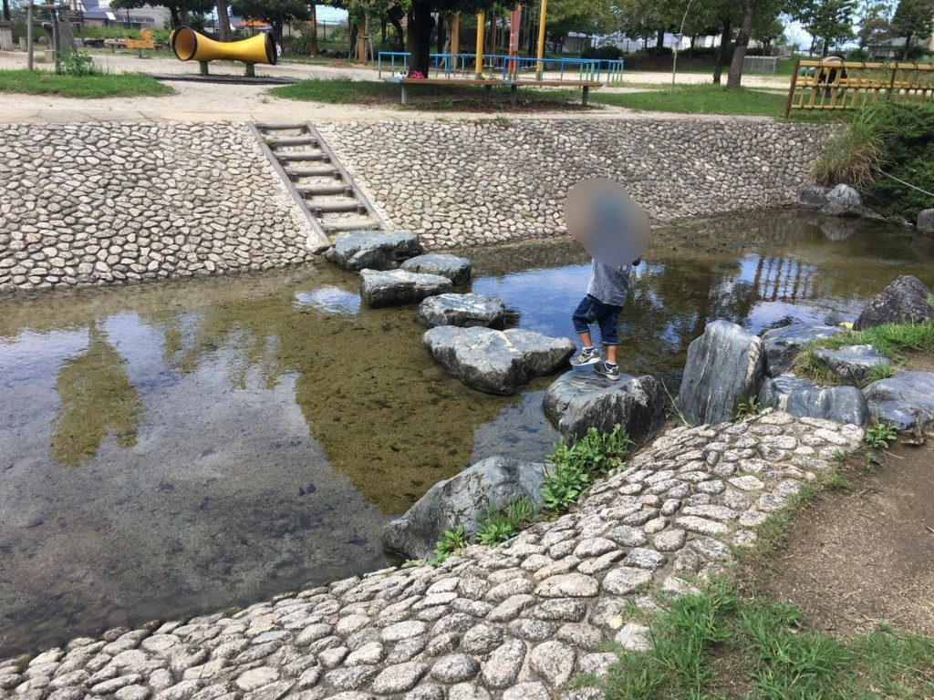 杖ノ淵公園,水遊び