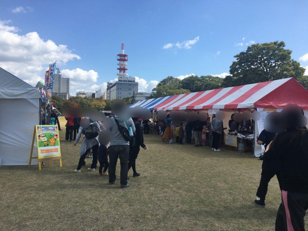 愛媛県民祭ええもんフェスティバル2018,雰囲気