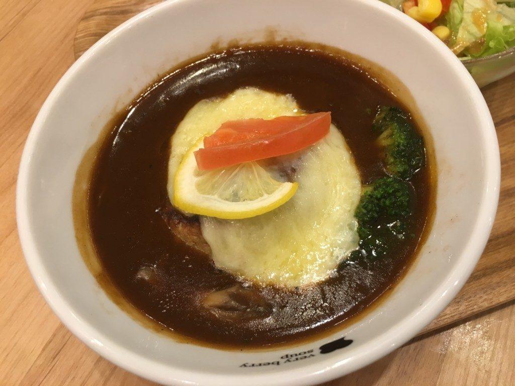 ベリーベリースープ(フジグラン松山店),ハンバーグスープ