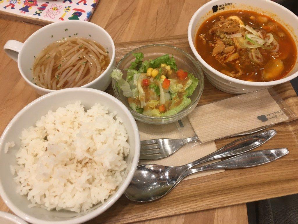 ベリーベリースープ(フジグラン松山店),メニュー,よくばりランチ