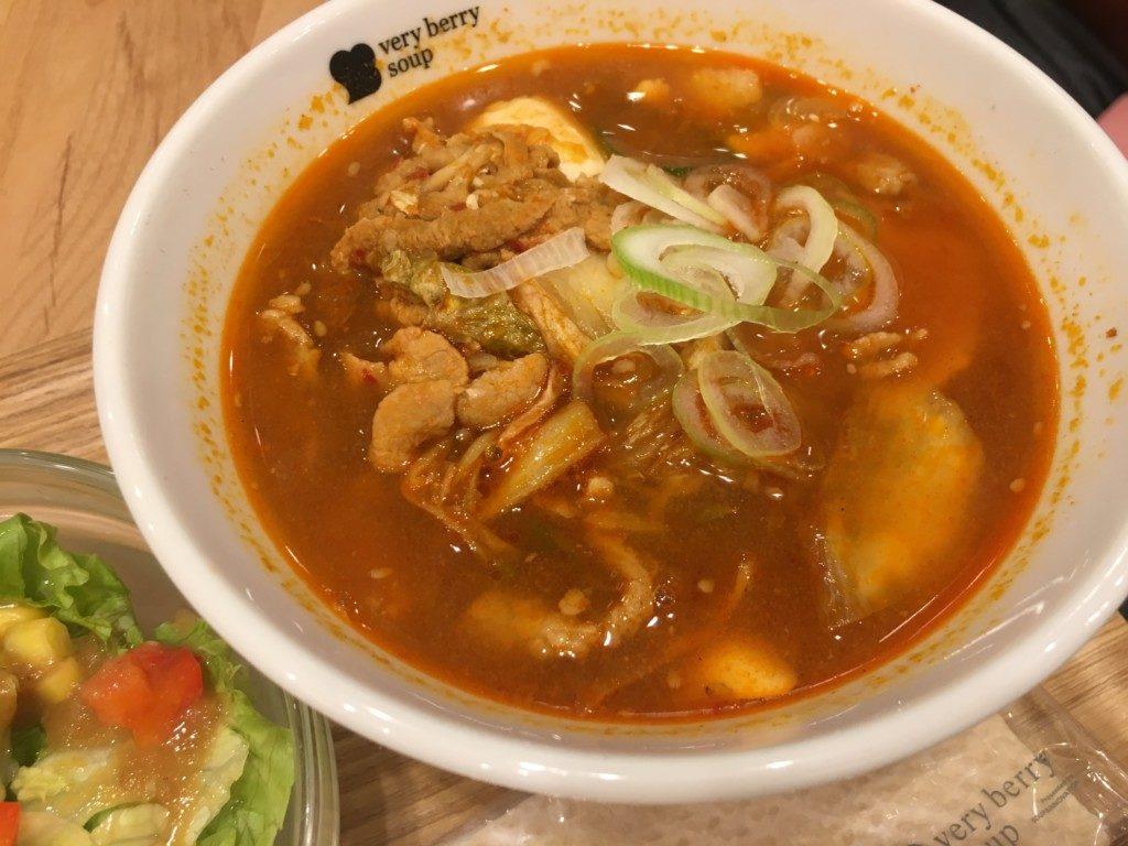 ベリーベリースープ(フジグラン松山店),スンドゥブ