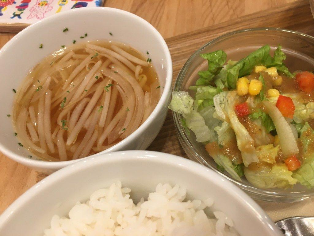 ベリーベリースープ(フジグラン松山店),もやしスープ