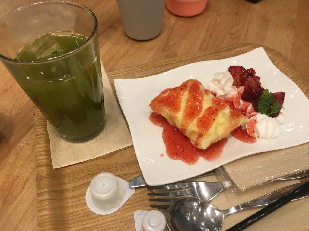 ベリーベリースープ(フジグラン松山店),いちごクレープ