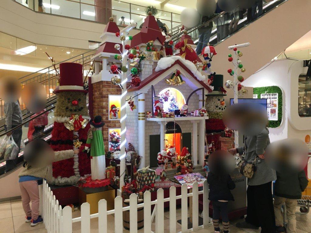 エミフルMASAKIの子供が喜ぶクリスマス飾り