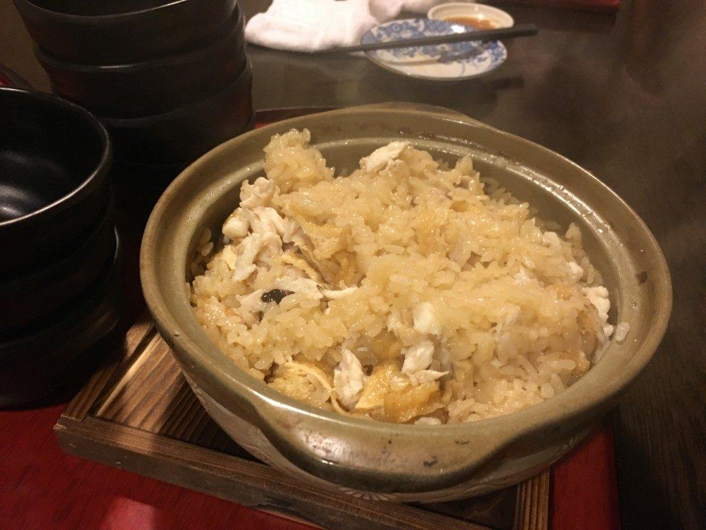 はるたけ,メニュー,鯛の炊き込みご飯