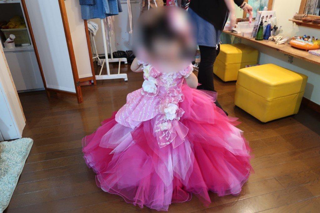 コゴエスタジオ,七五三,女の子ドレス