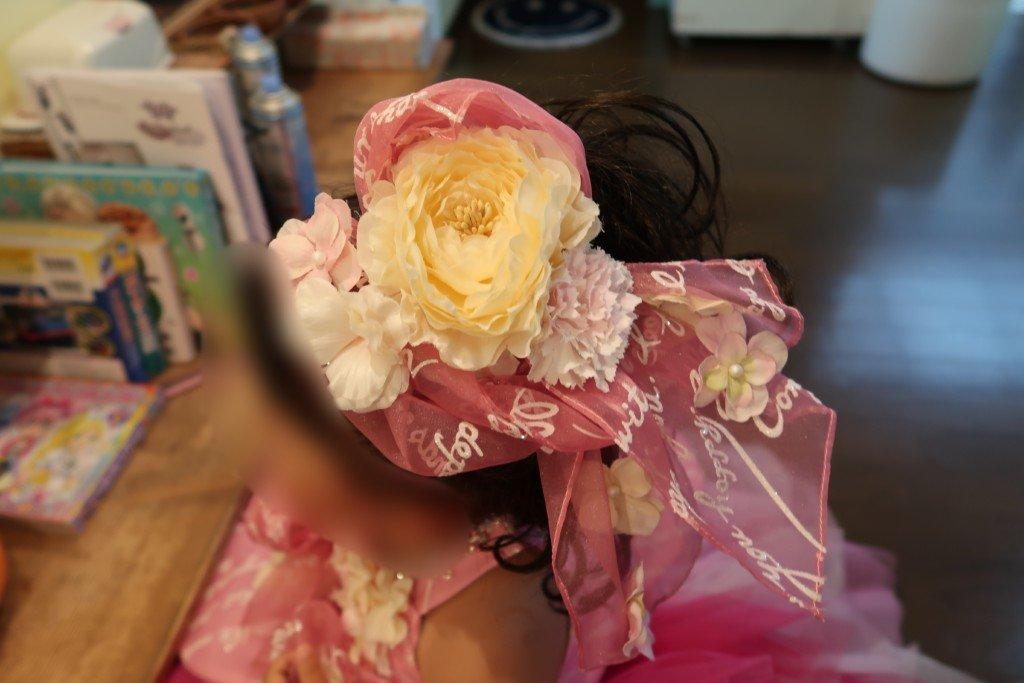 コゴエスタジオ,七五三,ドレス髪飾り