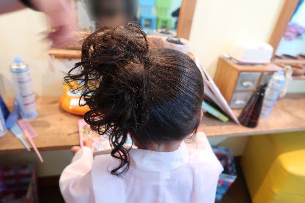 コゴエスタジオ,七五三,女の子髪型