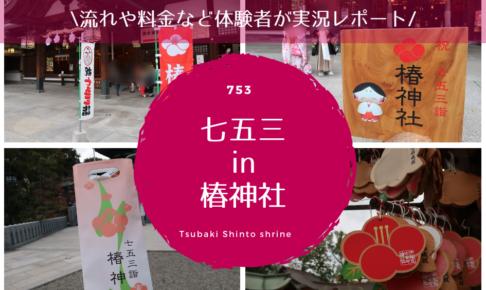 椿神社,七五三,口コミ