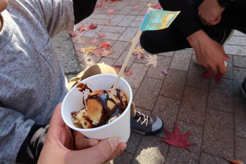 愛大学祭,ホットケーキ