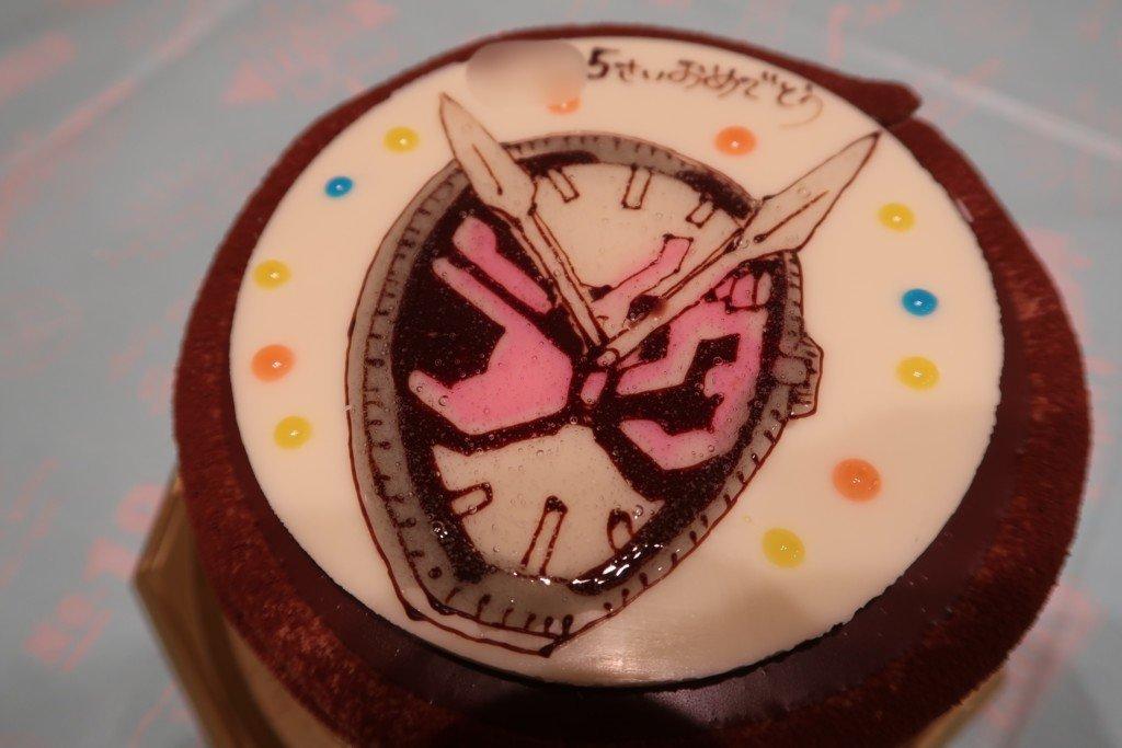 ラブランシュの仮面ライダージオウのキャラクターケーキ