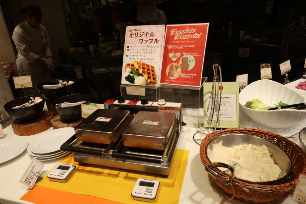 太陽のごちそう(エミフルMASAKI)の料理のメニュー(ワッフル)