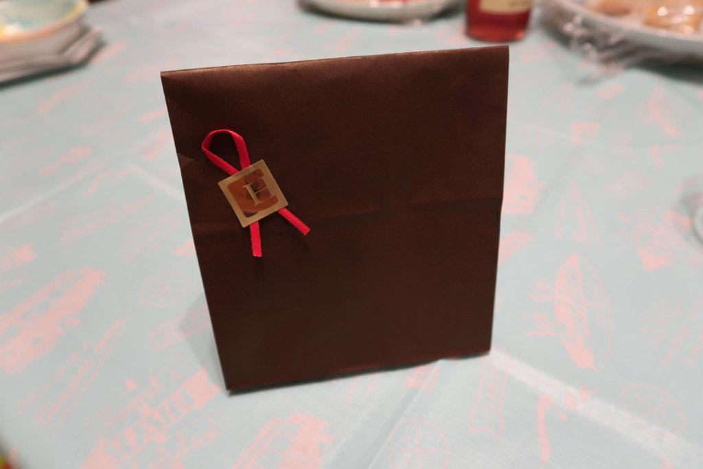 ラブランシュ,誕生日ケーキ予約の際にもらえるプレゼントのクッキー